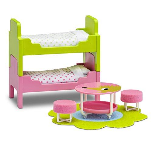 Lundby 60.2097.00 - Kinderzimmer, Minipuppen mit...
