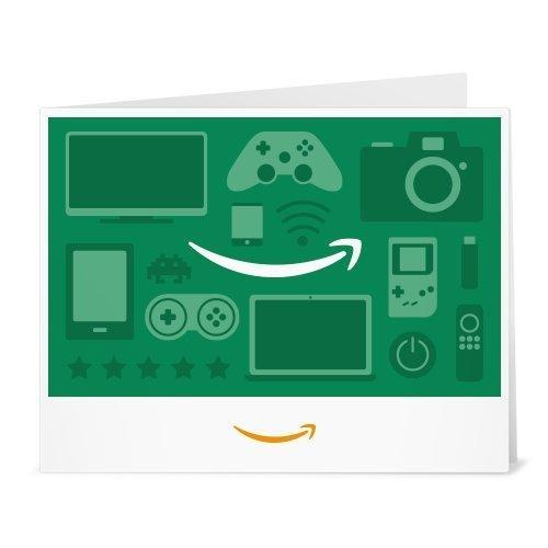 Amazon.de Gutschein zum Drucken (Gaming Icons...