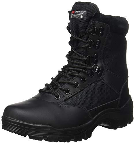 Tactical Boot mit YKK-Zipper,44 EU,Schwarz