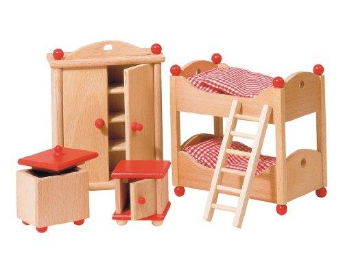 goki 51953 - Puppenmöbel Kinderzimmer