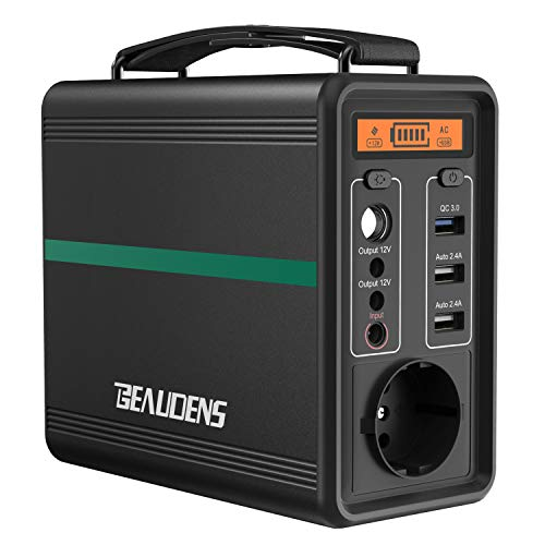 BEAUDENS Tragbare Power Station 166Wh/52000mAh,...