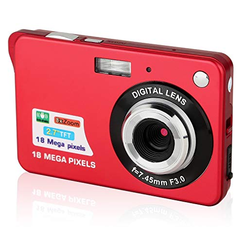 Digitalkameras, Foto Kamera Digital HD 2,7 Zoll...