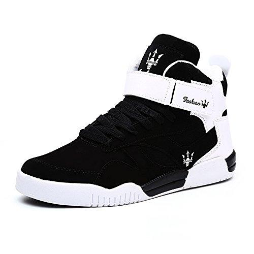 MUOU Sneaker Herren Schuhe Mode High Top Herren...