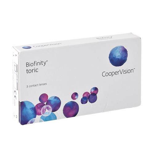 Biofinity Toric, torische Monatslinsen weich, 3...
