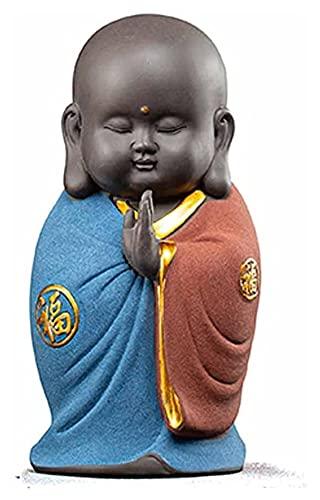 Desktop-Skulptur Tee Haustier lila Sand wenig...