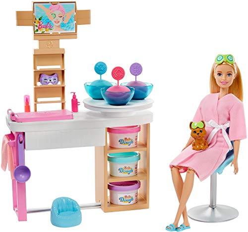 Barbie GJR84 Wellness Gesichtsmasken Spielset,...