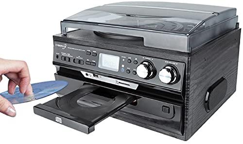 Retro Musikanlage | CD/MP3 | USB/SD | Radio FM/AM...