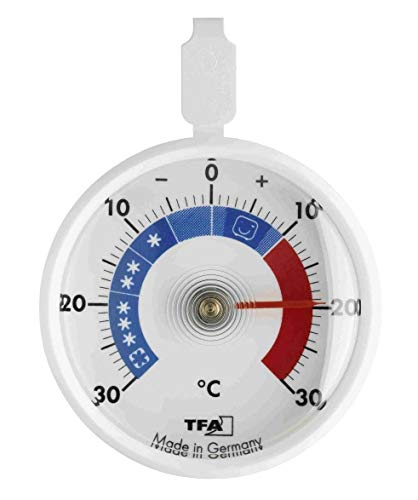 TFA Dostmann Analoges Kühlthermometer, klein,...
