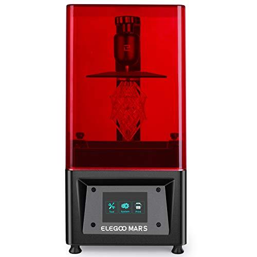 ELEGOO Mars UV LCD 3D Drucker mit 3,5 Zoll Smart...