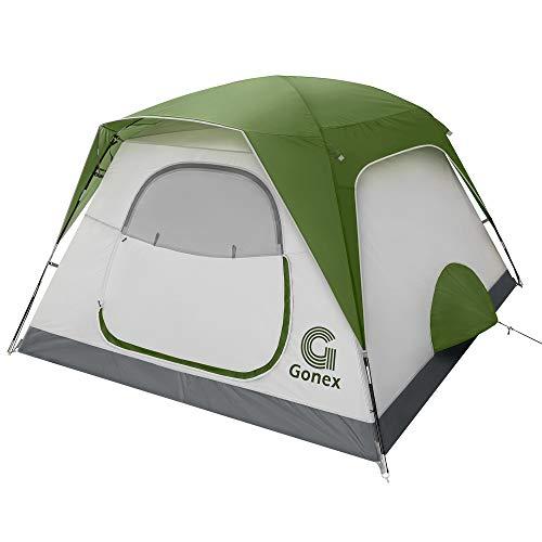 Gonex Camping Zelt, 6 Personen Leicht Wasserdicht...