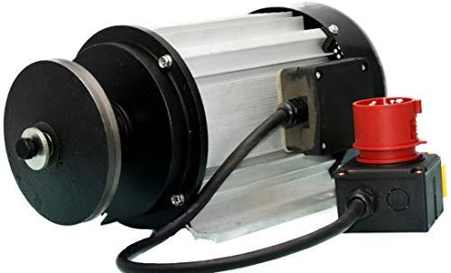 Elektromotor 400 V 4500 Watt für Wippkreissäge...