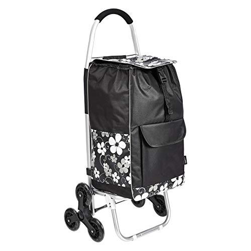 Amazon Basics – Einkaufstrolley mit 6 Rollen und...