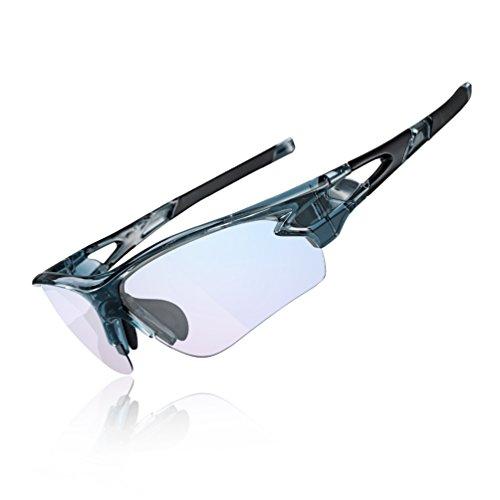 ROCKBROS Fahrradbrillen Selbsttönend Sonnenbrille...