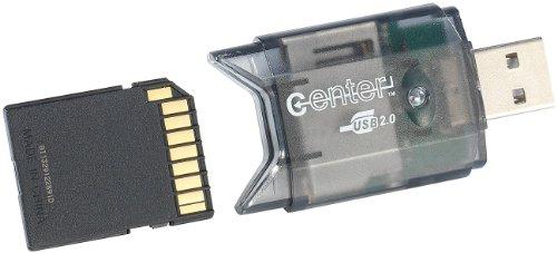 c-enter SD Kartenleser: USB-2.0-Cardreader &...