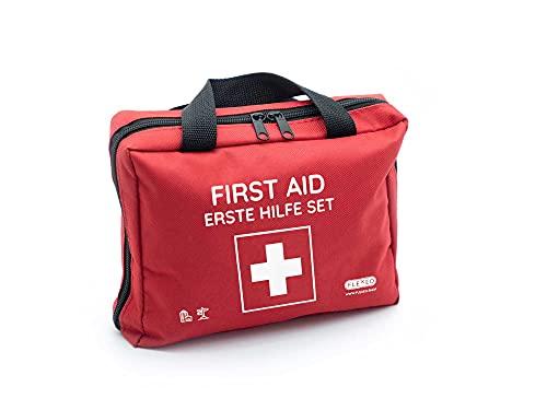Erste-Hilfe-Tasche mit Sofort-Kältekompressen,...