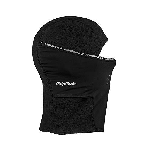 GripGrab Winter-Fahrradmaske und -mütze, Schwarz,...