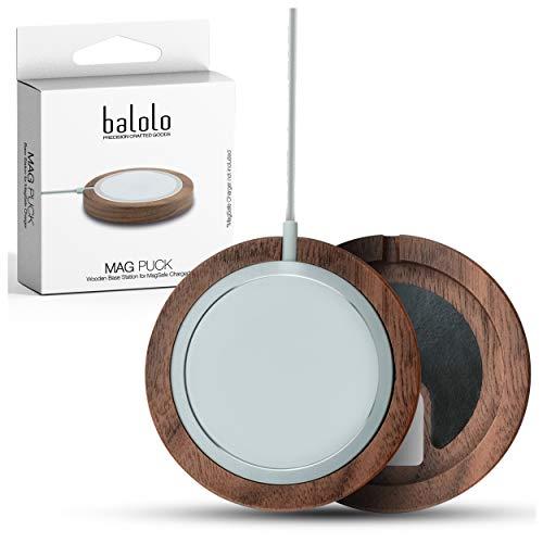 balolo Holz Mag Puck Halter entworfen für MagSafe...