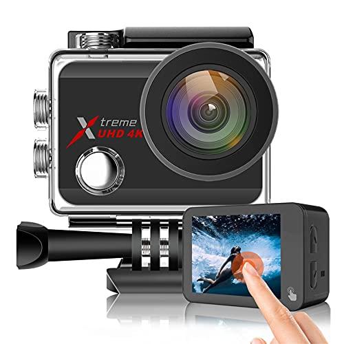 Action Kamera 4K/60fps Ultra HD 20MP WiFi EIS...