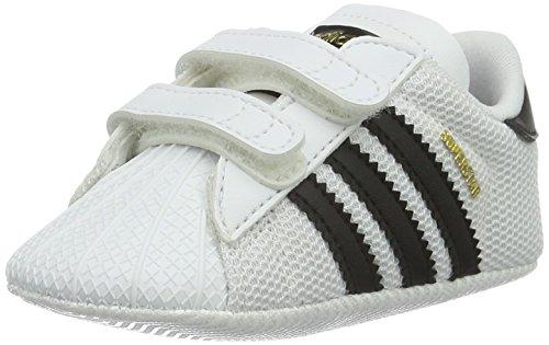 adidas Unisex Baby Superstar Crib Krabbel- &...