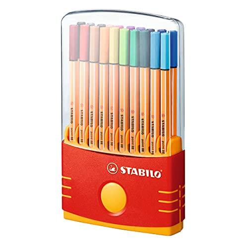 Fineliner - STABILO point 88 ColorParade - 20er...