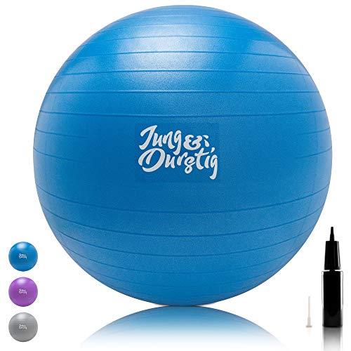 Jung & Durstig Original Gymnastikball inkl....