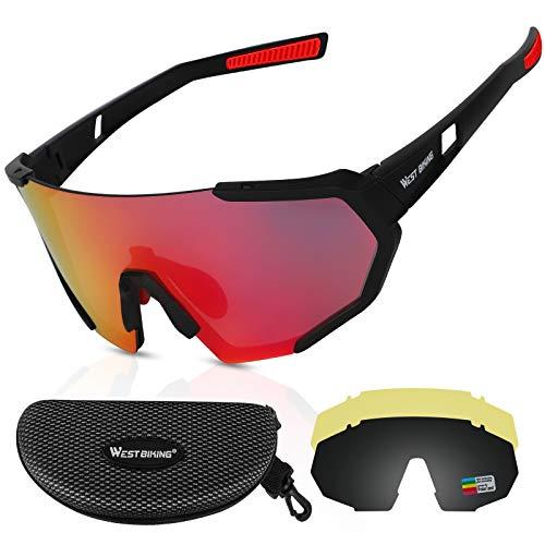 ICOCOPRO Polarisierte Sportbrillen UV400...