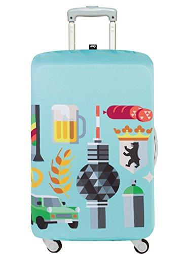 LOQI HEY STUDIO Berlin Luggage Cover -...