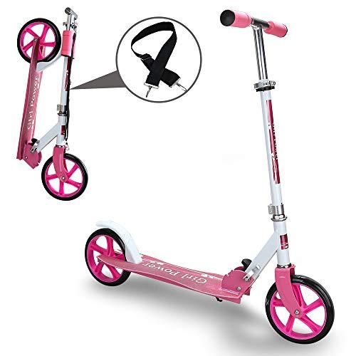 Kinderroller klappbar Höhenverstellbar Big wheels...