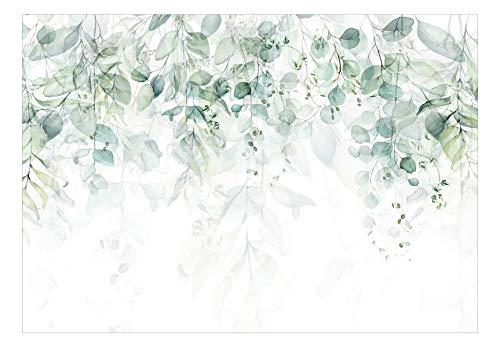 murando Fototapete grüne Blätter 350x256 cm...