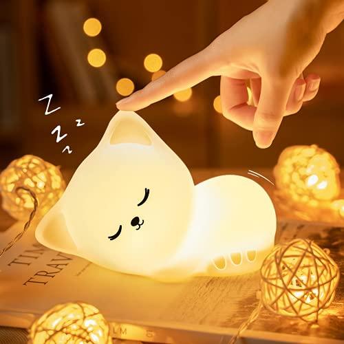 LED Nachtlicht Kinder, Kawaii Katze...