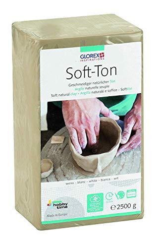 GLOREX 6 8075 301 -Soft Ton weiß 2500 g,...