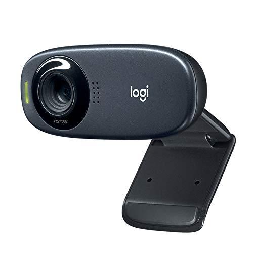 Logitech C310 Webcam, HD 720p, 60° Sichtfeld,...