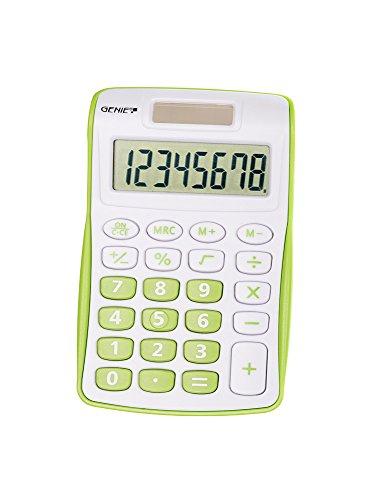 Genie 120 G 8-stelliger Taschenrechner (Dual-Power...