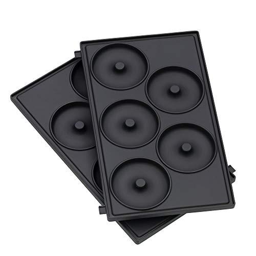 WMF LONO Snack Master Zubehör, Donut Platten-Set,...