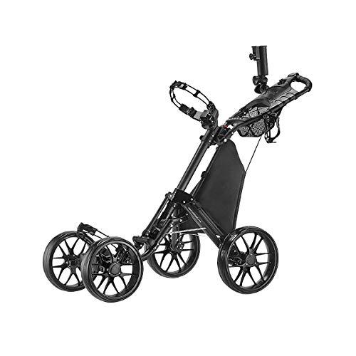 CaddyTek one Klick-klappbar, golf trolleys 4 Rad...