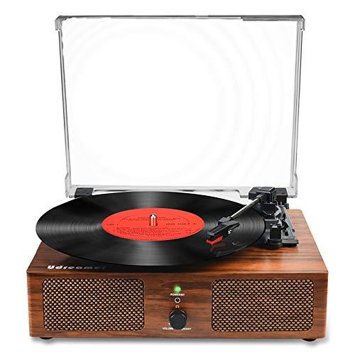 Vinyl Plattenspieler Bluetooth Plattenspieler mit...