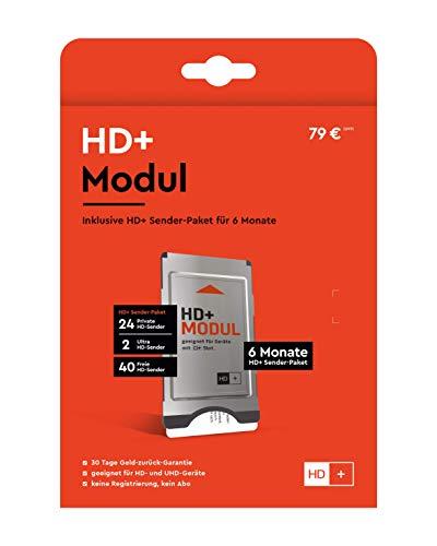 HD+ Modul inkl. HD+ Sender-Paket für 6 Monate...