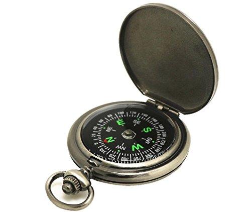 Hycy 2018 Vintage Taschenuhr Kompass Klassischer...