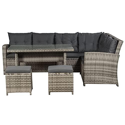 ArtLife Polyrattan Lounge Set Santa Catalina...