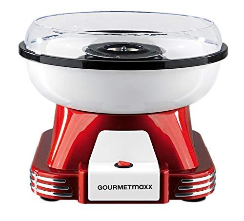 GOURMETmaxx Zuckerwattemaschine für Zuhause | Mit...