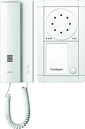 Ritto 1891170 Portier Audio Paket 1WE weiß/weiß