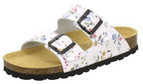 AFS-Schuhe 2100, Bequeme Damen Pantoletten echt...