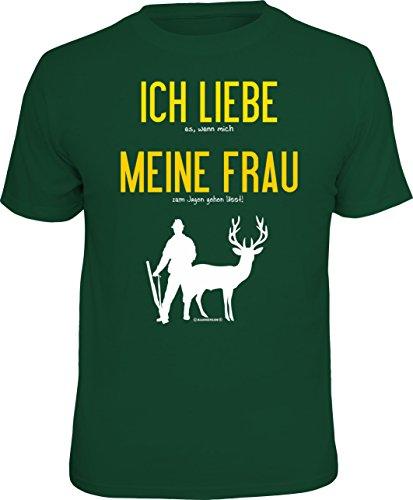 RAHMENLOS Original T-Shirt für den Jäger: Ich...