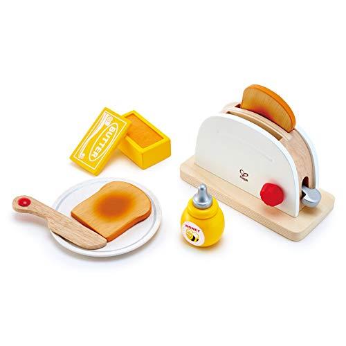 Hape Pop-up-Toaster-Set| Küchen-Fantasiespiel mit...