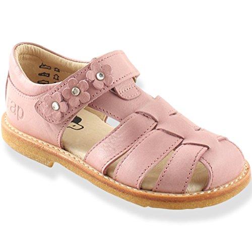 Ledersandalen Blume Klettverschluss - Pink Nude -...