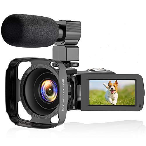 ZORNIK 2.7K Camcorder,Video Camcorder mit 36...