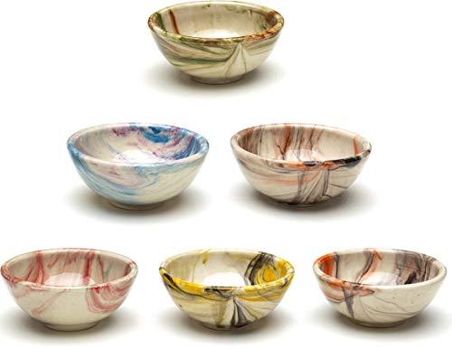 Kleine Keramikschalen 6er-Set - Klein Snack...