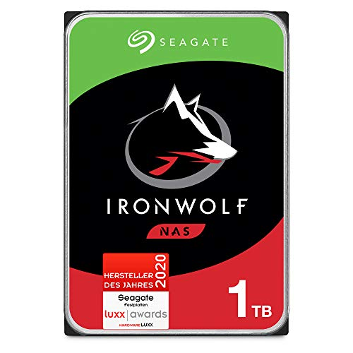 Seagate IronWolf, NAS interne Festplatte 1 TB HDD,...