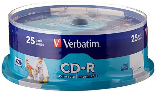 Verbatim CD-R AZO Wide Inkjet Printable 700 MB I...