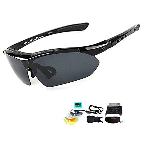 V VILISUN Fahrradbrille Sportbrille Sonnenbrille...